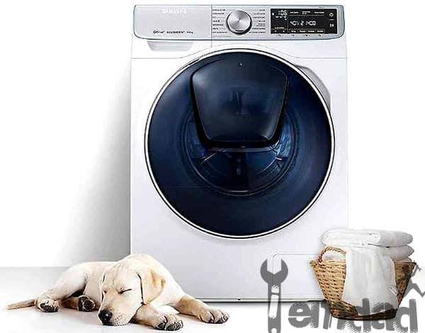 باز نشدن درب ماشین لباسشویی