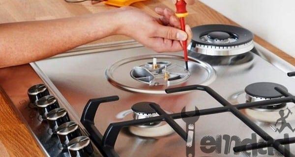 آموزش تعمیر اجاق گاز