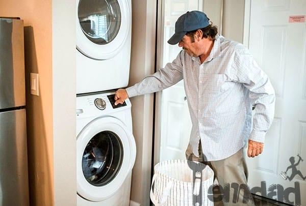 تعمیر ماشین لباسشویی میله