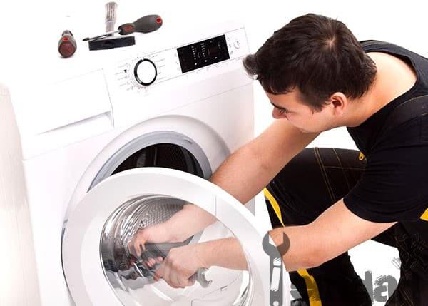 تعمیر ماشین لباسشویی زانوسی